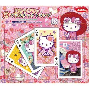 4165本通 日本製 撲克牌 凱蒂貓-日本風  4962514294091下標前請詢問