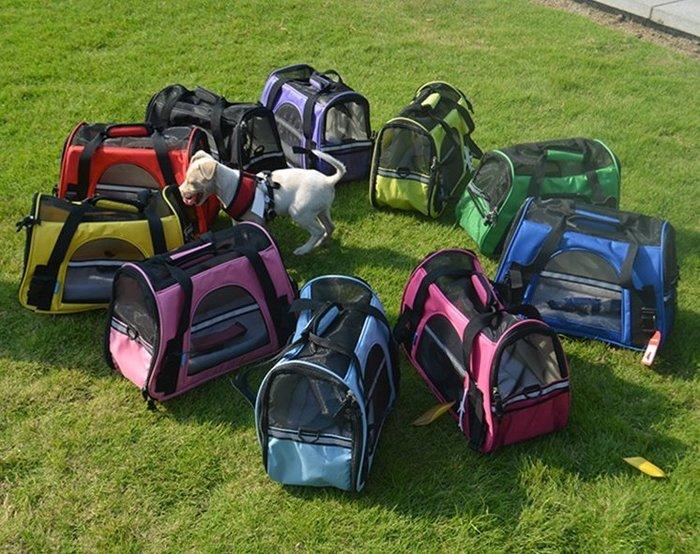寵物包狗包貓包泰迪外出便攜寵物包狗出行包便攜籠透氣保暖寵物袋
