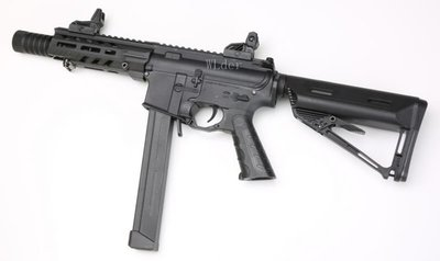 [01] SRC FALCON-W 9mm M4 衝鋒槍 電動槍 ( BB槍M16MP5狙擊槍UZI衝鋒槍M4卡賓槍