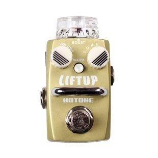 ☆ 唐尼樂器︵☆公司貨一年保固 Hotone LIFTUP Clean Boost 電吉他/電貝斯 Bass 單顆增益效果器