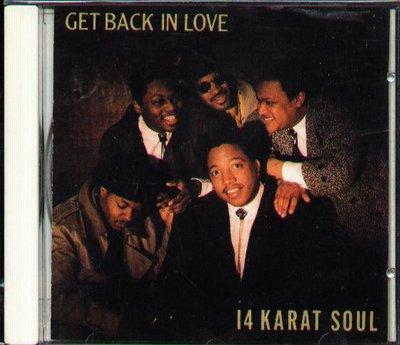 八八 - 14 Karat Soul - Get Back In Love - 日版