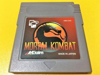 幸運小兔 GB遊戲 GB 真人快打 MORTAL KOMBAT GB卡帶 GBC、GBA 主機適用 D4
