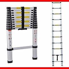 三季加厚鋁合金1.4米~5.2米直梯伸縮梯鋁梯一字梯家用梯竹節梯樓梯梯子BH273