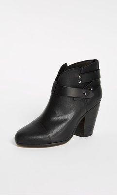 全新美國帶回Rag&Bone Harrow boots 黑色短靴 好萊塢明星名媛必備