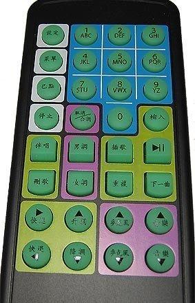卡拉OK 點歌紅外線USB版接收器+遙控器new ! 適合JETKTV 大放頌 K歌情人支援WINLIRC/ IRCTR