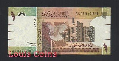 【Louis Coins】B421-SUDAN--2006蘇丹紙幣1 Sudanese Pound