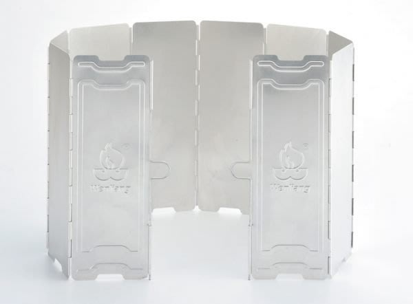 【大山野營】台製 文樑10片鋁合金擋風板 9703 擋風片 阻風片 附收納盒 攻頂爐 飛碟爐