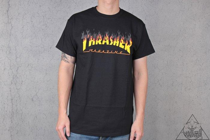 【HYDRA】Thrasher BBQ Flame T-Shirt 真實 火焰 街頭 滑板 短T【TS49】