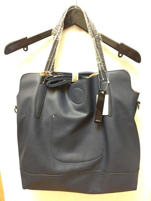 [變身館日本服飾]~adia~肩背包~子母包~斜背包~書包~托特包~旅行包~日本購入~全新現品~出清價~附背帶