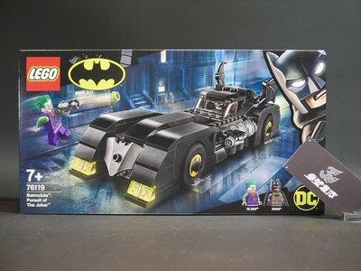 (參號倉庫) 現貨 樂高 LEGO 76119 DC 正義聯盟 蝙蝠俠 Batman 蝙蝠車 追擊 小丑