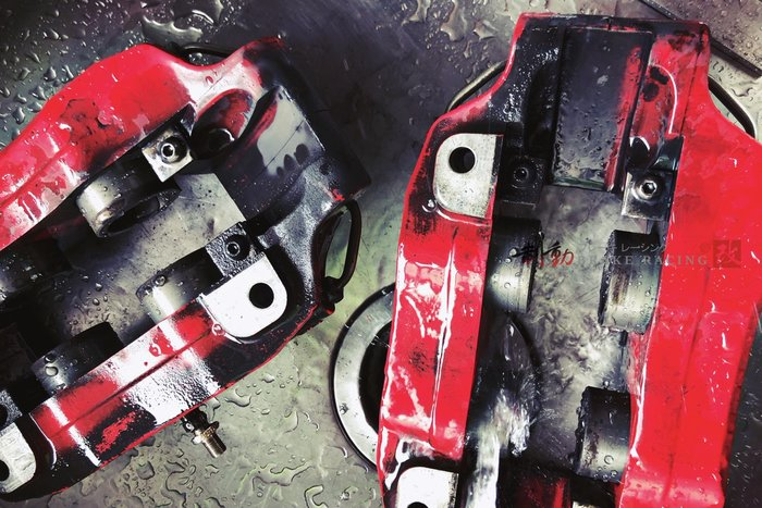 AP RACING CP-5200 四活塞卡鉗清潔、維修、保養、原廠油封、來令片、外盤更換 訂製 歡迎詢問 / 制動改