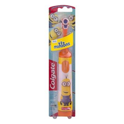 「送口罩」高露潔 兒童電池式電動牙刷小小兵牙刷