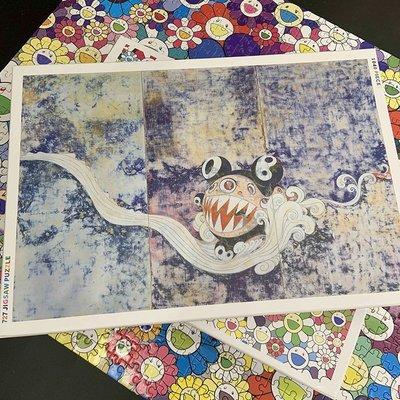 【阿翹的店】超限量村上隆 727版畫 Jigsaw Puzzle DOB君拼圖益智減壓大型拼圖5/26