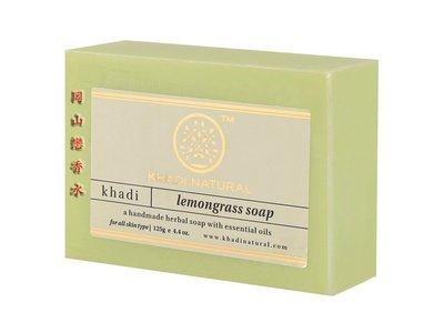 岡山戀香水~印度 Khadi 草本檸檬草 /香茅手工精油香皂125g~優惠價:65元