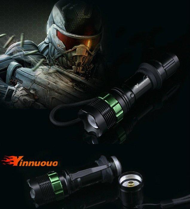 全新YN-35 強光cree q5 進口LED遠射可充電式變焦18650迷你手電筒防水戶外露營登山
