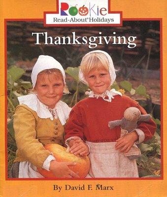 英文童書繪讀本 Thanksgiving  《Read About Holidays》【新書 未使用】