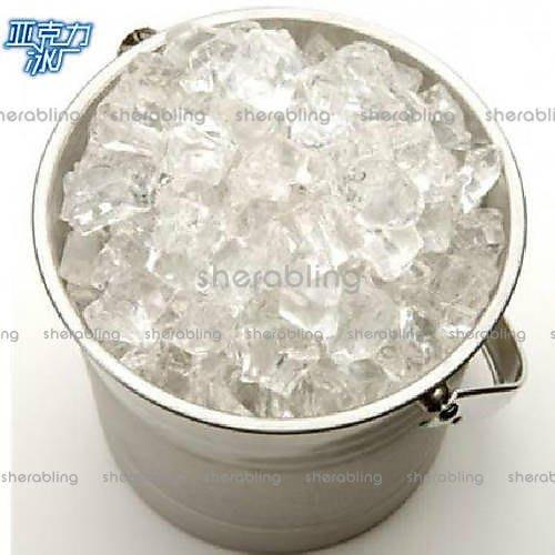 [MOLD-S_006]假冰塊 透明 仿真大冰塊 裝飾冰塊道具 水晶石頭