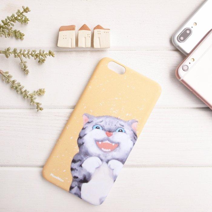 調皮小灰,有貓手機殼 (iPhone系列)