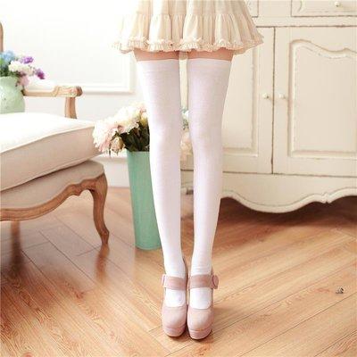 性感加長防滑高筒襪過膝長筒襪子女學生日系顯瘦打底襪純棉大腿襪