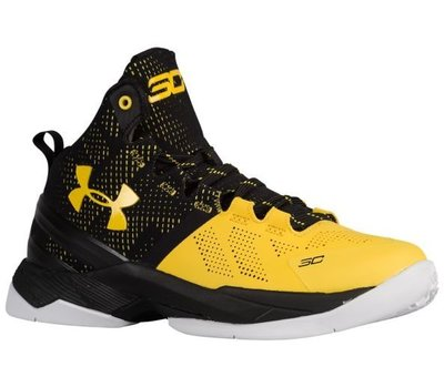 Under Armour Curry-2-II Long Shot GS 1270817-003黑黃長射準星大童女鞋UA 台北市