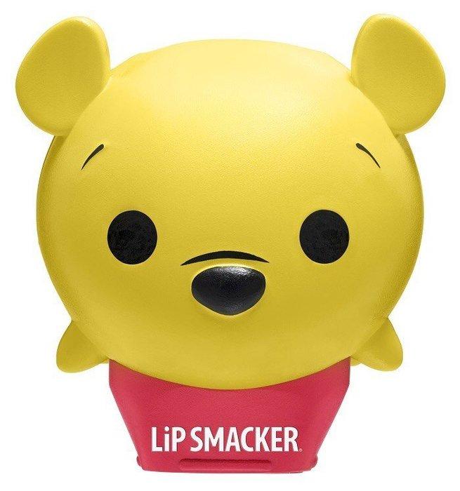 【小糖雜貨舖】美國 Lip Smacker 聯名 迪士尼 TSUM TSUM 疊疊樂 護唇膏 - 維尼