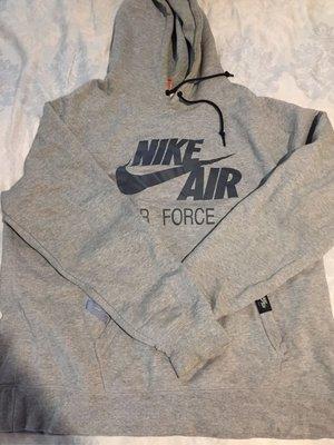 Nike Air Force 25 帽t 3m 反光 xxl  兩件一起賣 黑 灰