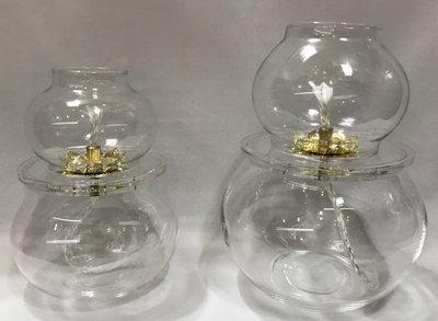 【弘真宗教文物】石蠟油專用油燈杯(大)+10元換佛字油燈杯