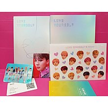 BTS [ Love Yourself 結 Answer ] 重新包裝版(Jimin+3D 立體卡) Repackage