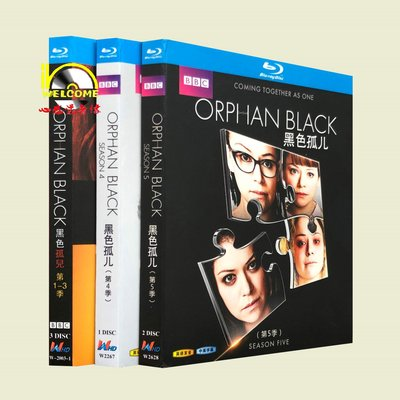 聚優品 BD藍光美劇1080P Orphan Black 黑色孤兒 1-5季 完整版