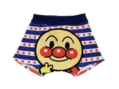 日本童裝 日本泳裝 麵包超人 男童 溫泉褲 外出褲 泳褲#90~小太陽日本精品