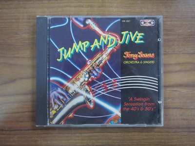 ◎MWM◎【二手CD】JUMP AND JIVE-TONY EVANS ORCHESTRA AND SINGERS 英版