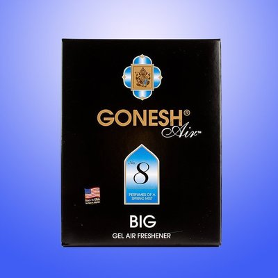 GONESH 精油 芳香大碟 No.8 春之薄霧 大芳香膠/芳香劑 180g 日本原裝進口【GO020】