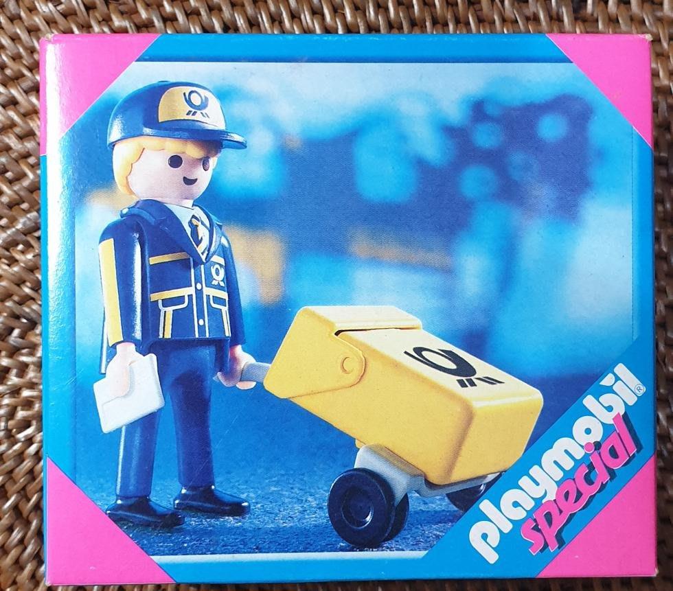 playmobil 4607 絕版 快遞來囉
