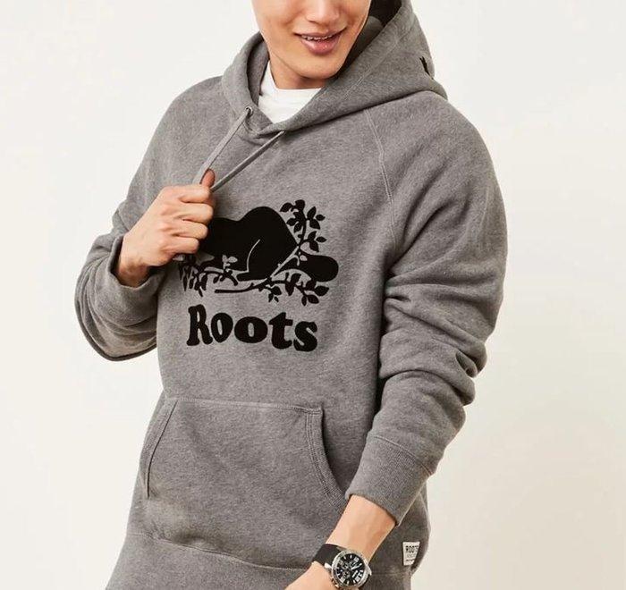 ~☆.•°莎莎~*~☆~~加拿大ROOTS ORIGINAL KANGA HOODY 連帽長T