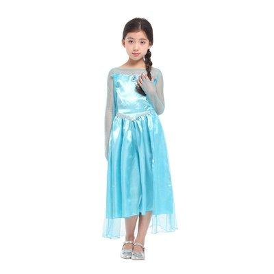 乂世界派對乂萬聖節服裝,萬聖節裝扮,變裝派對,兒童變裝服-冰雪服裝/愛紗公主服/愛莎冰雪公主