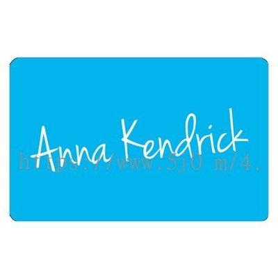 〈可來圖訂做-卡貼 應援貼紙〉Anna Kendrick 安娜坎卓克 貼紙 悠遊卡貼紙