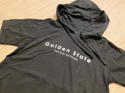 JFK 金州勇士Golden State Warriors 2020黑暗事件紀念版 短袖連帽T恤 黑底/LOGO配色