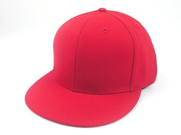 【二鹿帽飾 】男女皆可‧潮流配色《帥氣時尚風格 優質造型加大帽簷坂帽. 素紅色 》.板帽-特價250元