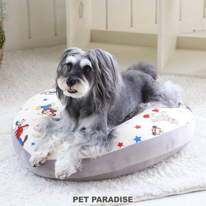 貝果貝果  日本 pet paradise 代理 DISNEY   米奇軟軟圓床 [B919]