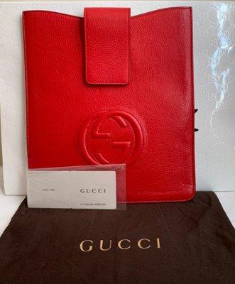Gucci 大G logo iPad(迷你電腦)保護套(🙋美品;特價!)