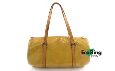 [EcoRing]*Louis Vuitton Handbag/Papillon/Patent /TH0959*RankC -207001372-