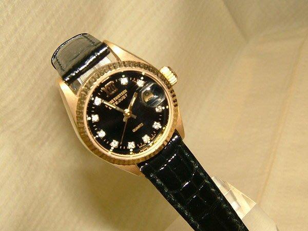 全心全益低價特賣*伊陸發鐘錶百貨*蠔式型時尚造型腕表*財運好運旺旺來