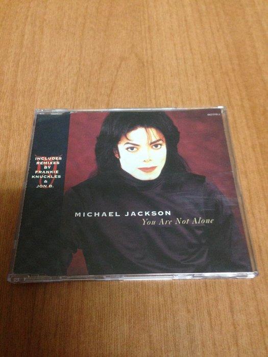 (單曲) MICHAEL JACKSON YOU ARE NOT ALONE  麥可傑克森