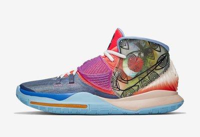 "(A.B.E)Nike 耐克 Kyrie 6 Pre-Heat ""Heal The World"" CN9839-403 男潮鞋"
