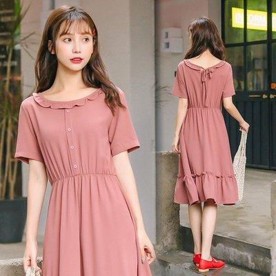 [1025新品]連身裙 洋裝 無袖 休...