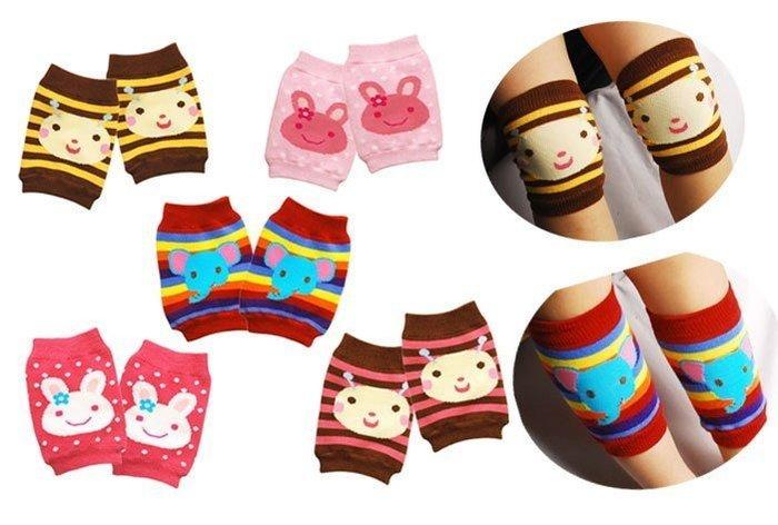 保護寶寶腳 膝蓋 學爬襪/襪套/護膝/袖套/護肘 kimiss【WD002】