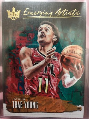 Trae Young 2018-19 Court Kings Emerging Artists 吹楊 新人特卡