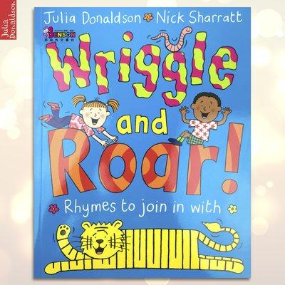 [邦森外文書] Wriggle and Roar! Rhymes to Join 平裝書 Julia Donaldson