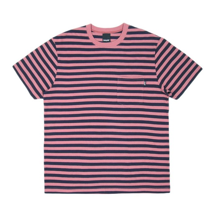 《 Nightmare 》ONLY NY Nautical Stripe Pocket T-Shirt