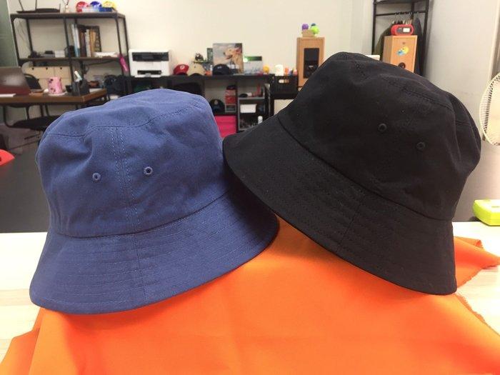 [阿菊潮流工作室] 正韓貨 素面 漁夫帽 夏季必備 時尚潮流單品 黑色 藍色 兩色任選[免運費]